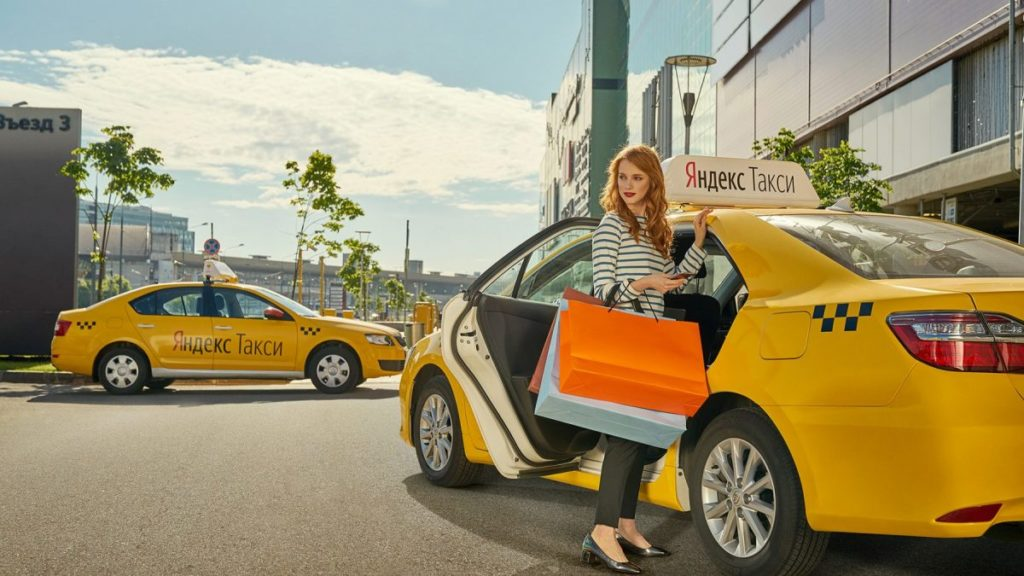 Yandex Taxi Moscow